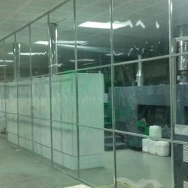 Vách Ngăn Nhựa PVC Dẻo Trong Suốt