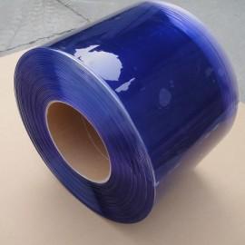 màn nhựa pvc xanh duong ngăn lạnh âm sâu