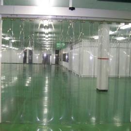 Màn nhựa pvc dẻo trong dùng làm màn cửa , vách ngăn trong nhà xưởng