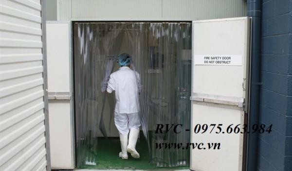 Màn nhựa pvc dùng trong phòng sạch