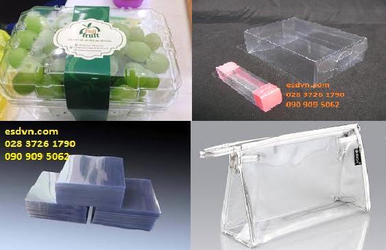 sản phẩm định hình từ màng pvc trong